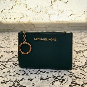 MICHEAL KORS coin and card holder wallet